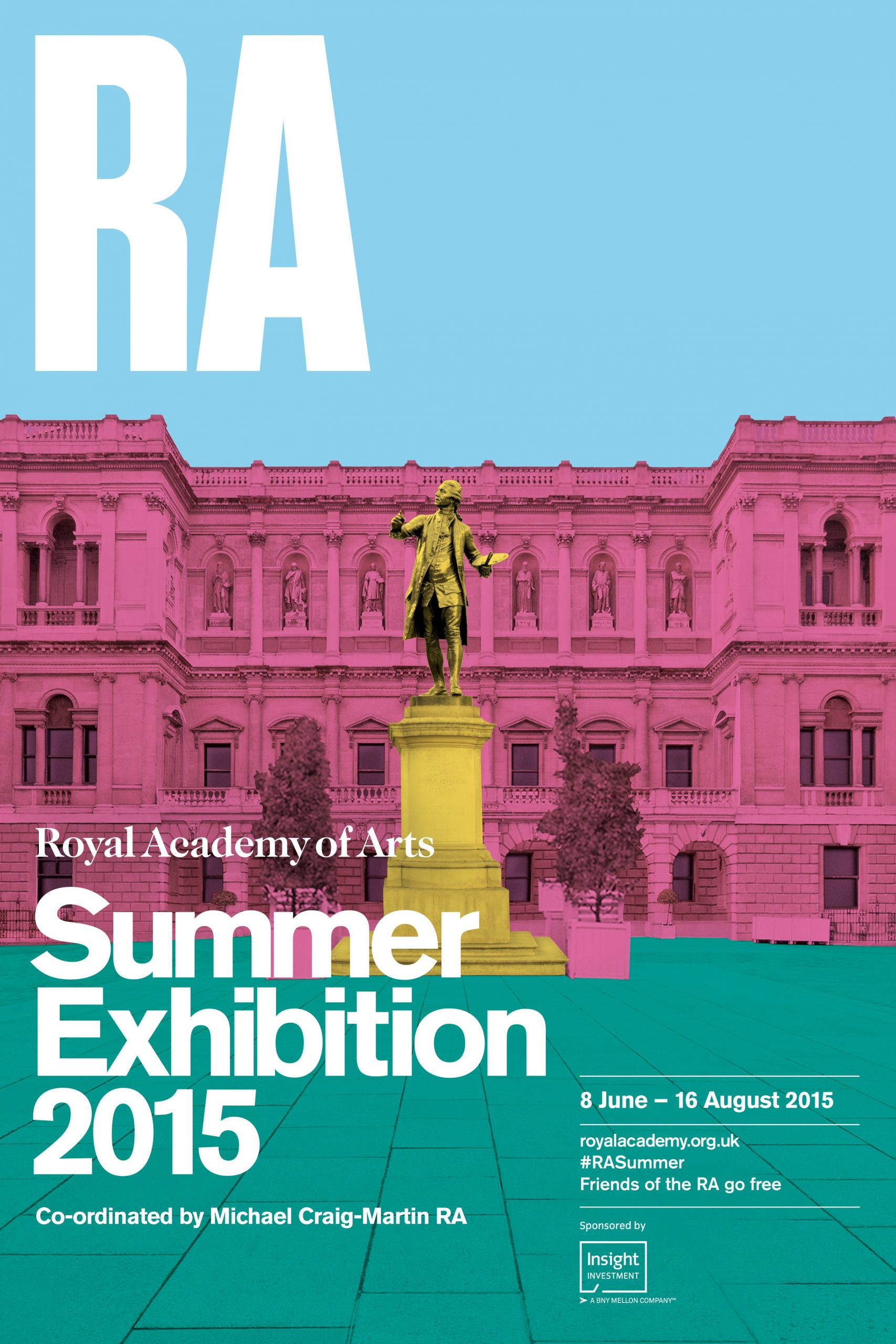 Royal Academy Summer Exhibition flyer